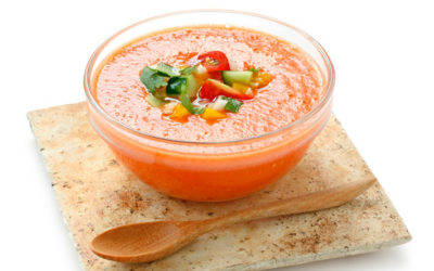 Take gazpacho, the secret to staying forever young