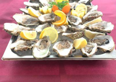 Austern im Restaurant Korsika Salou Tarragona